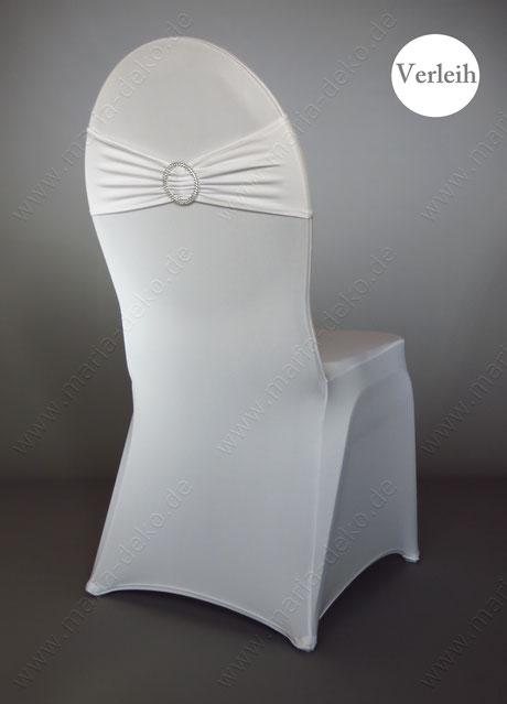 Stretchbänder in Farbe Weiß mieten