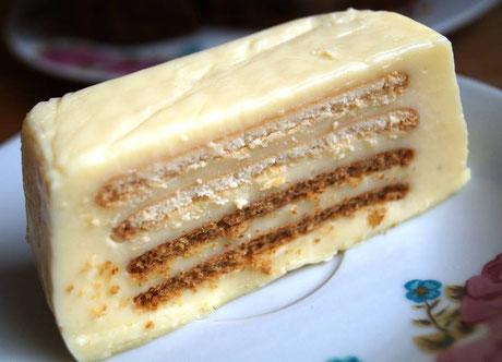 Pudding-Butterkeks-Kuchen