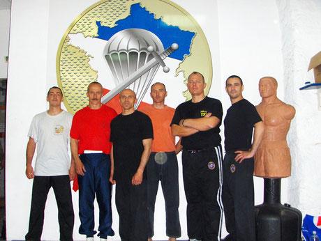 STAGE KRAV-MAGA POUR UNITE MILITAIRE 2011