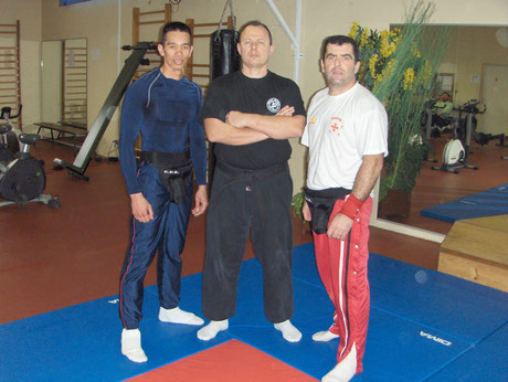 STAGE INSTRUCTEURS KRAV-MAGA TOULOUSE 2007/2008