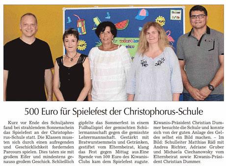 Straubinger Tagblatt vom 29.07.2019