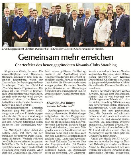 Straubinger Tagblatt vom 21.11.2018