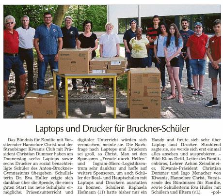 Straubinger Tagblatt vom 04.08.2020
