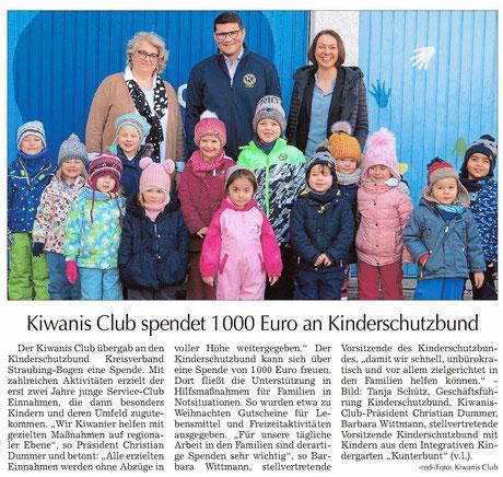 Straubinger Tagblatt vom 22.1.2020