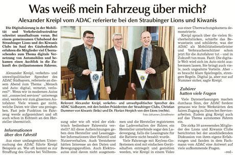 Straubinger Tagblatt vom 23.1.2020