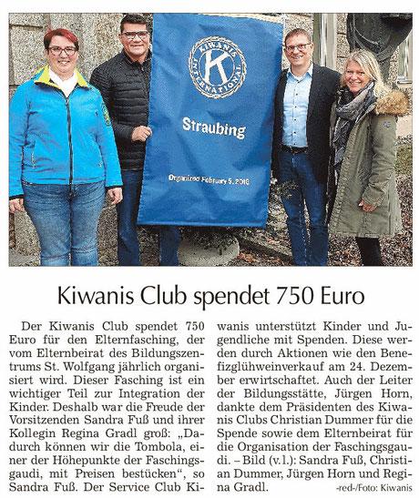 Straubinger Tagblatt vom 17.01.2020