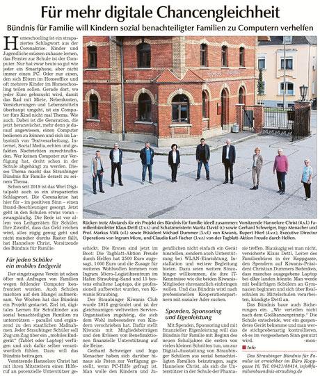Straubinger Tagblatt vom 22.06.2020