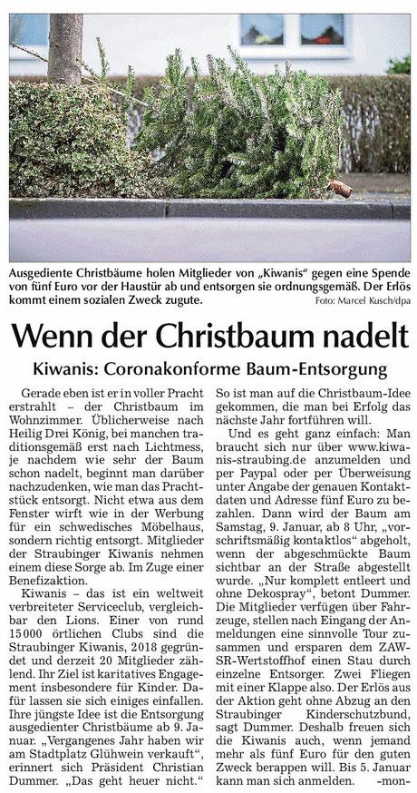 Straubinger Tagblatt vom 28.12.2020