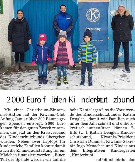 Straubinger Tagblatt vom 08.02.2021