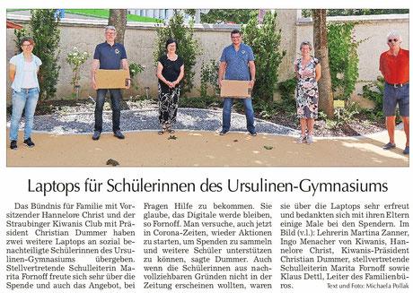 Straubinger Tagblatt vom 11.08.2020