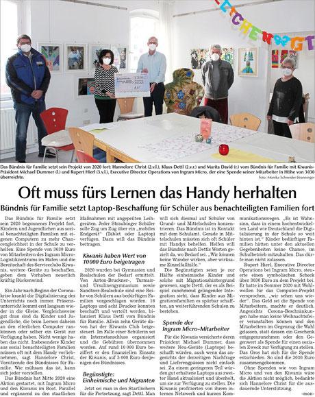 Straubinger Tagblatt vom16.02.2021