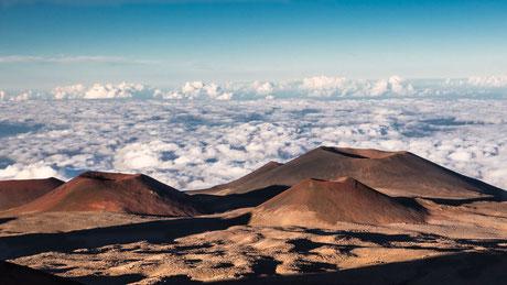 Bilder: Mauna Kea Schildvulkane