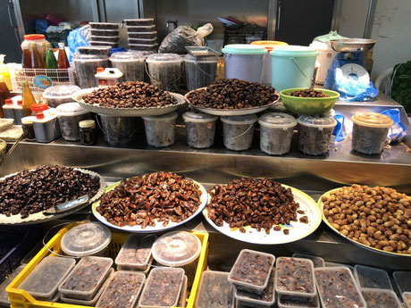 Dates, dates and more dates at the old souk in Muscat, Oman