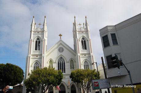 Franz von Assisi Kirche, San Francisco, Peter Rehberg