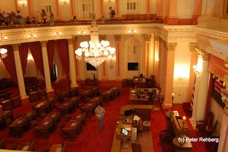 Senat, Capitol, Sacramento, Peter Rehberg