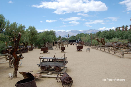 Boraxmuseum, Furnace Creek, Peter Rehberg