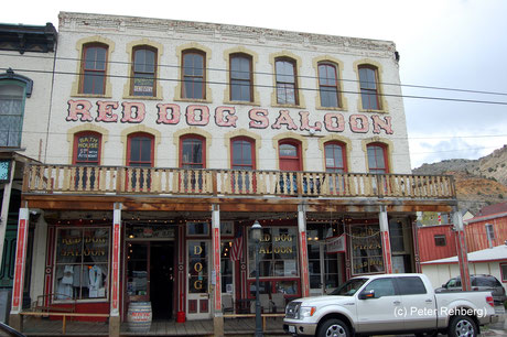 Red Dog Salon, Virginia City, Peter Rehberg