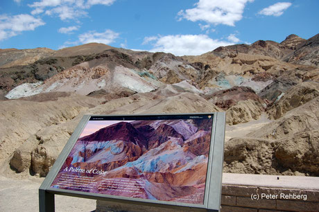 Artist Drive, Death Valley, Peter Rehberg