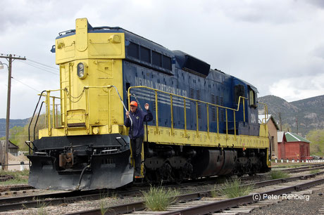 Nevada Northern Railway, Ely, Peter Rehberg