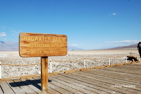 Badwater, Death Valley, Peter Rehberg