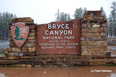 Einfahrt Bryce Canyon, Peter Rehberg