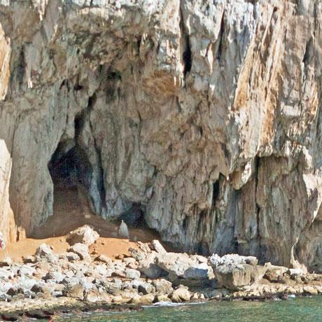 イギリスの世界遺産「ゴーハムの洞窟群」のヴァンガード洞窟