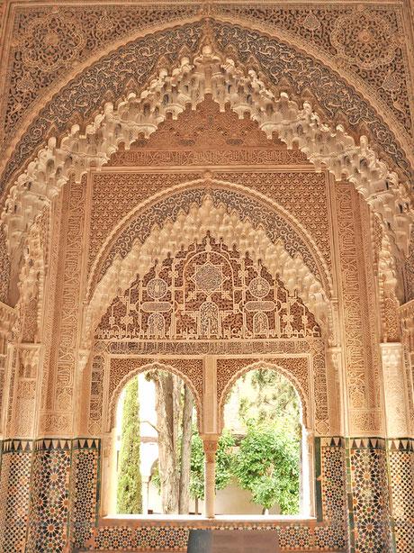 ナスル朝宮殿ライオン宮、リンダラハのバルコニー
