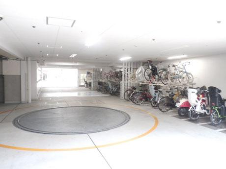 駐輪場、駐輪場