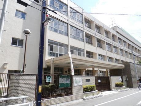 大阪市立高津小学校(40m)