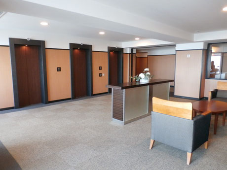 48階 エレベーターホール