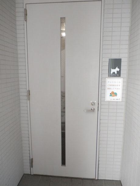 ペットルーム入口