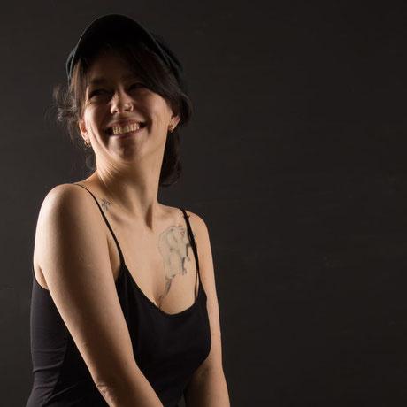 portrait jeune femme studio chambery savoie