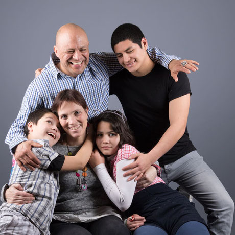 portrait studio famille chambery avec enfants chambery savoie