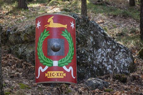 Scvtvm imperial. Legio XXI Rapax.