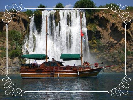 Karpuzkaldiran Wasserfall Antalya