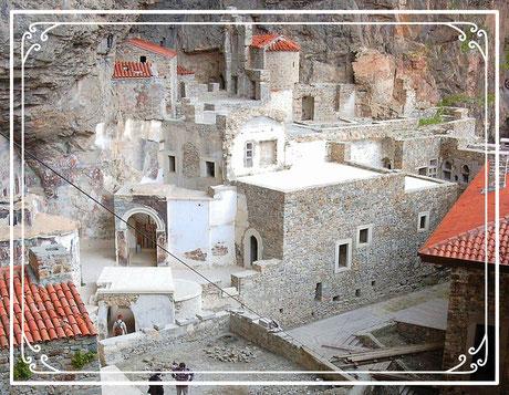 Sümela Kloster Macka Trabzon Türkei