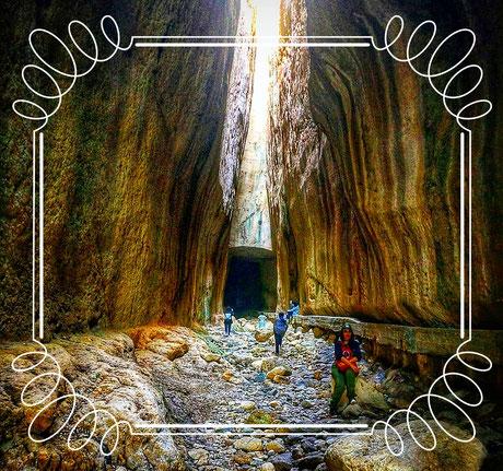 Vespasian-Titus-Tunnel, Titus Tunnel Seleucia Pieria Çevlik hatay Türkei