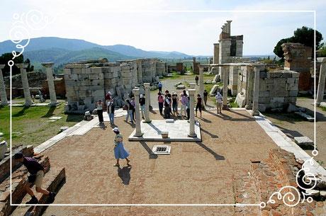Johannes Basilika Ephesus Selcuk Türkei