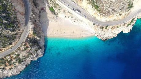 Kaputaş-Strand Türkei