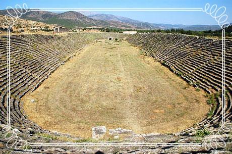 Das Stadion von Sardes Türlkei Privat Individuelle Reisen