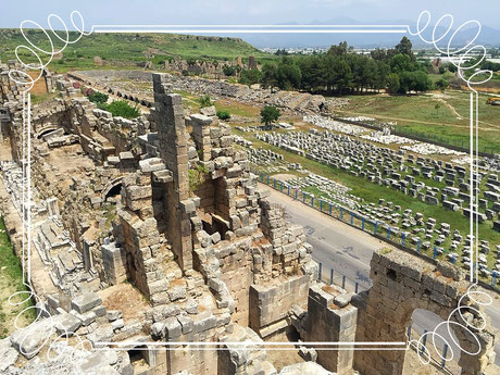 Perge Theater, Stadium Antalya