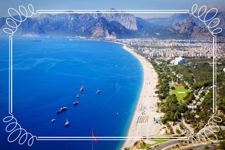 Traumhafte Strände an der türkischen Riviera