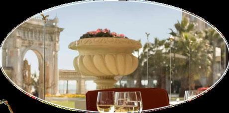Luxus vom feinsten: Zimmer im Ciragan Palast Bosporus Istanbul