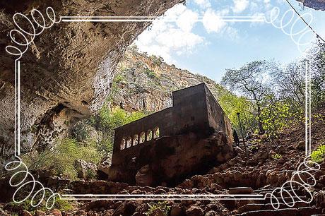 Korykische Grotten Cennet Cehennem Narlıkuyu Mersin Türkei