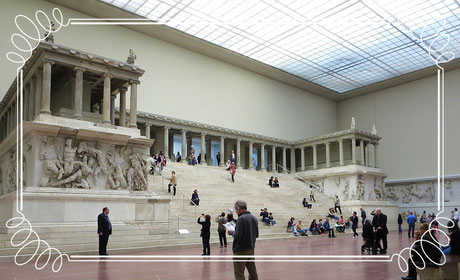 Zeus Altar von Pergamon - Berlin Museum