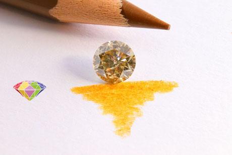 """Braune Diamanten die auch unter der Bezeichnung """"Champagner"""" bekannt sind, erfahren immer größere beliebtheit"""