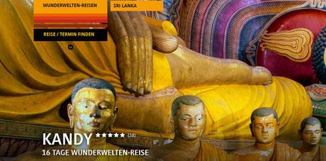 Kandy- Wunderwelten Erlebnisreisen