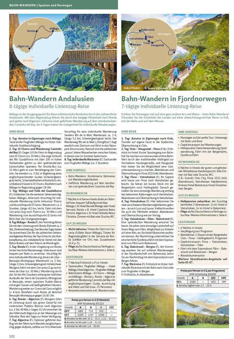 Bahnwandern in Fjordnorwegen...