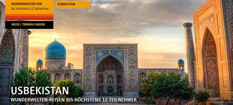 Krigistan& Usbekistan Reisen bei Singer Reisen & Versicherungen buchen.