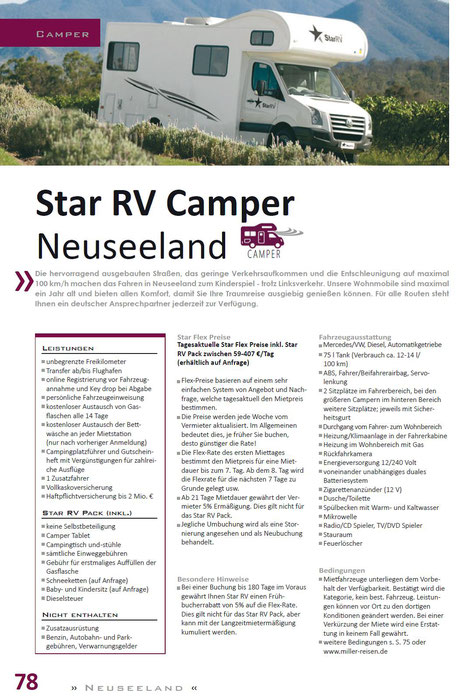 Neuseeland Wohnmobiler und Camper preiswert buchen...